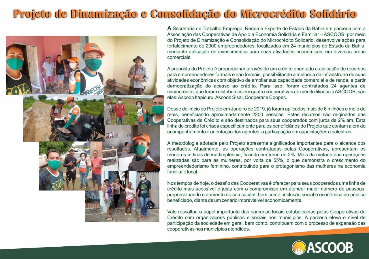 Projeto de Dinamização e Consolidação do ...