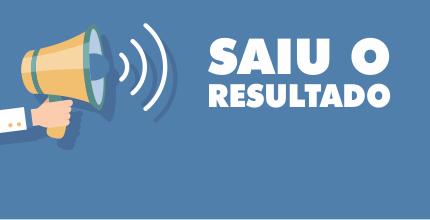 RESULTADO FINAL EDITAL DE SELEÇÃO 001/2019-1; ...