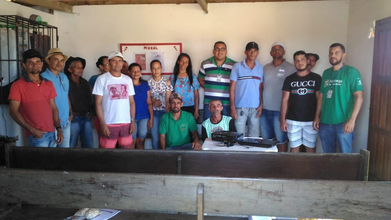ASCOOB realiza Dia de Campo na Comunidade de Cajazeiras em Maragogipe.